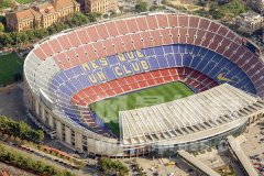巴萨主场球场-诺坎普球场-巴塞罗那诺坎普球场图集