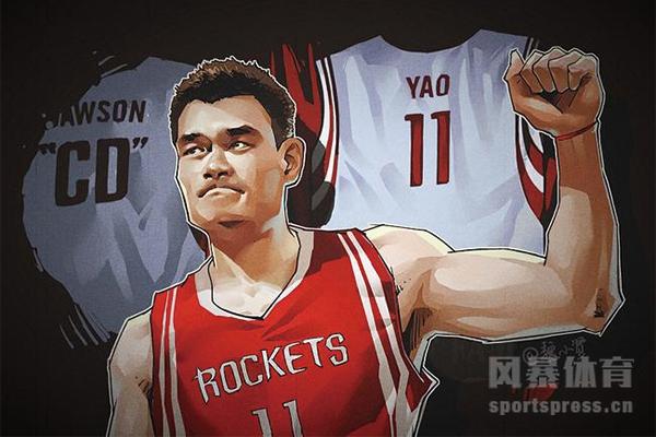姚明在NBA算什么水平?姚明是NBA第几中锋?