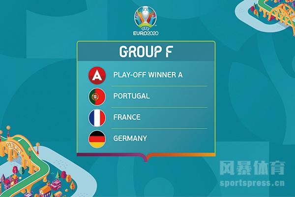 2020欧洲杯24强确定了吗?2020年欧洲杯F组怎么了?