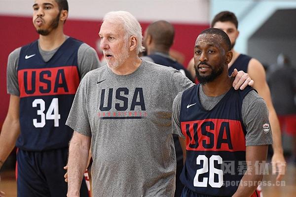 美国男篮名单都有谁?美国男篮15人名单预测