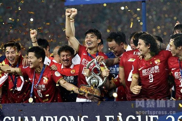 <b>广州恒大携巴萨皇马一同入选近十年最成功的体育团体</b>
