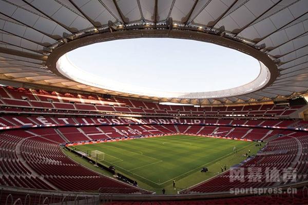 马德里竞技主场内景