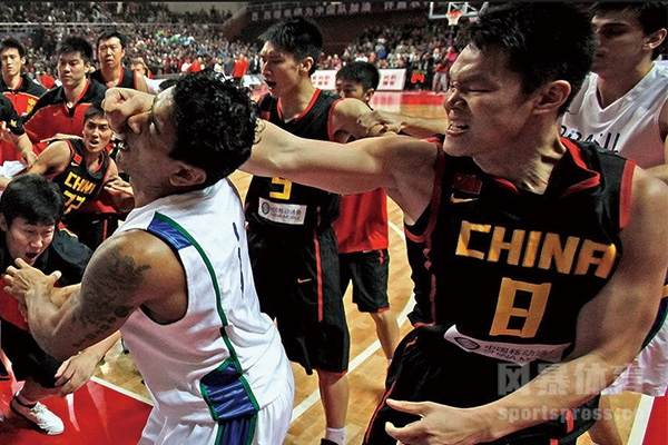 中国男篮打架厉害吗?中国男篮打架事件回顾