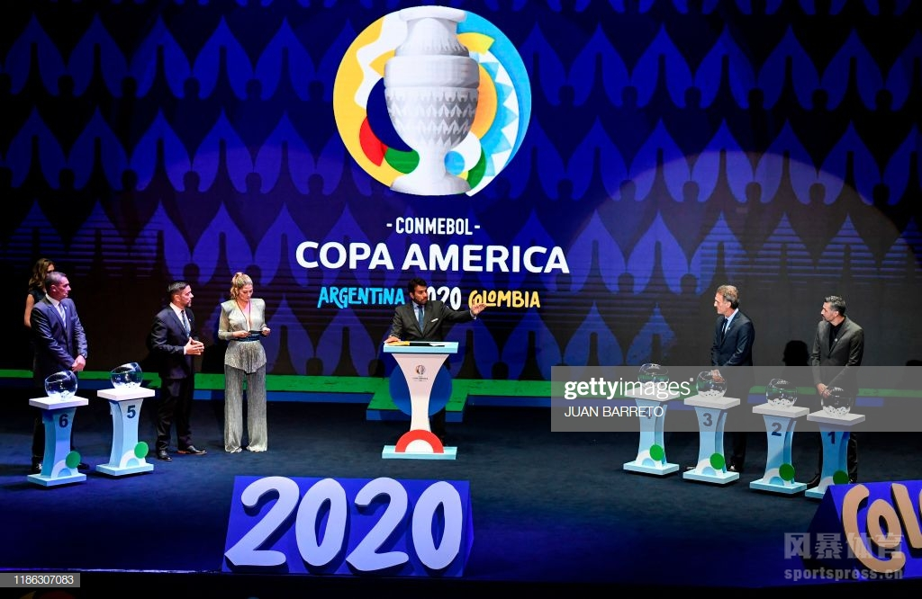 2020年美洲杯足球赛分组抽签仪式