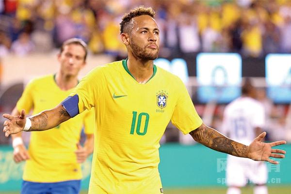 巴西队最新名单都有谁?巴西队最新名单有内马尔吗?