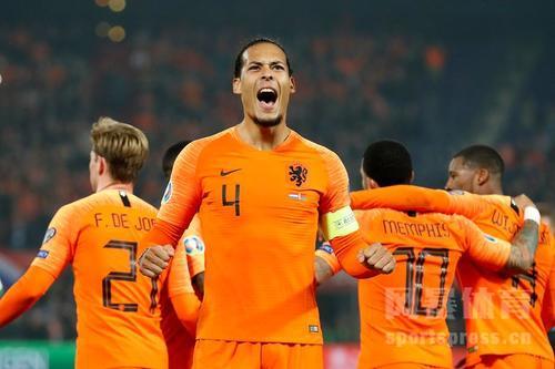 2020年欧洲杯夺冠大热门:荷兰队