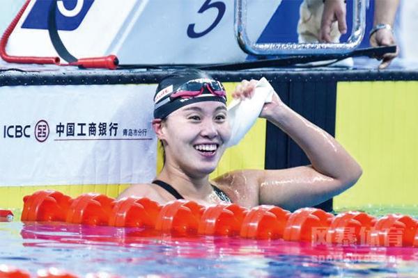 傅园慧在国内泳坛的地位依旧不可撼动