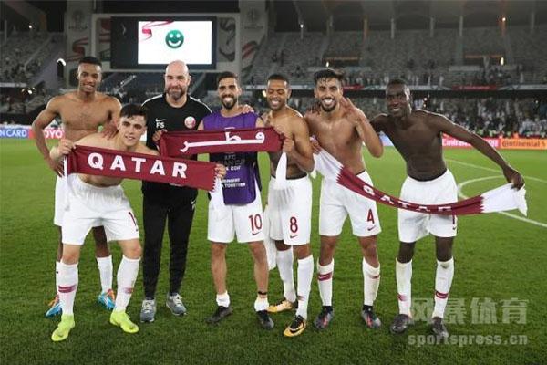 卡塔尔在2019亚洲杯获得冠军