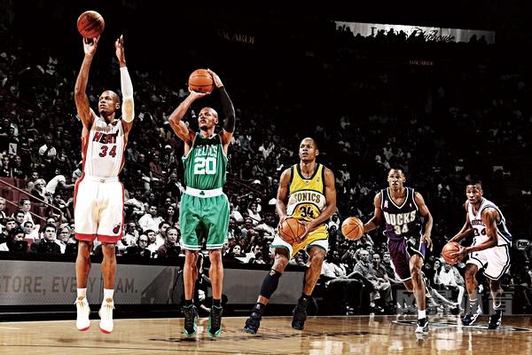 NBA历史三分榜排名如何?库里在N