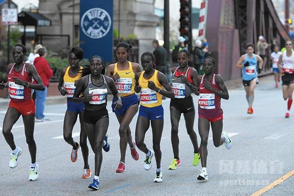 女子马拉松比赛