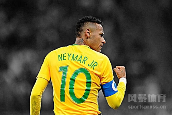 巴西天才球员内马尔