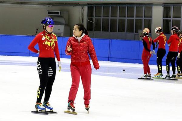 周洋在备战2022北京冬奥会