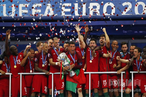 葡萄牙击败法国队获得欧洲杯冠军