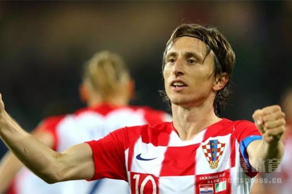 2018世界杯为国家征战的莫德里奇
