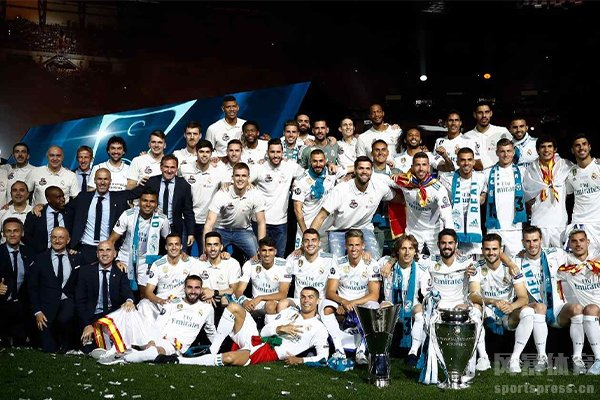 皇马取得过13次欧冠冠军