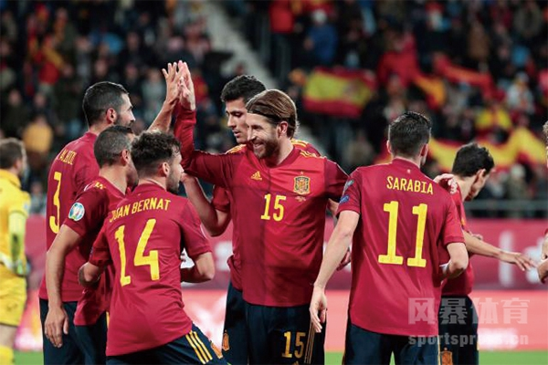 西班牙队-西班牙国家队-2020欧洲杯E组足球队