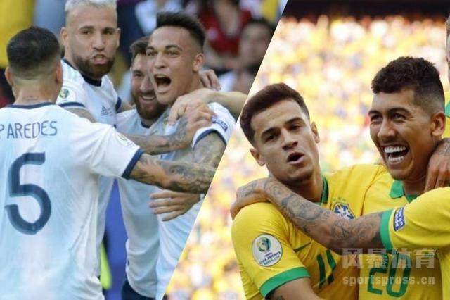 【2019美洲杯半决赛】巴西vs阿根廷(2-0)所有的精彩进球