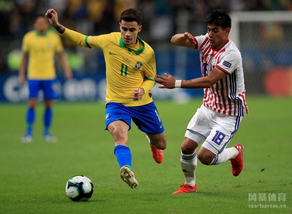 2019美洲杯:巴西4-3巴拉圭点球大战