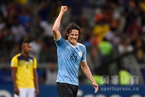 【美洲杯乌拉圭vs智利】卡瓦尼进球 乌拉圭绝杀智利