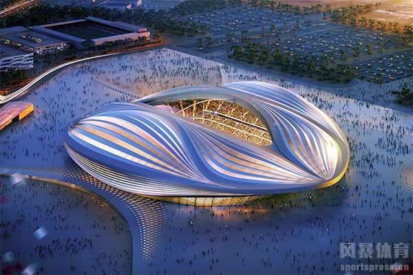 卡塔尔世界杯开幕式球场效果图