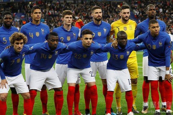 法国队阵容众星云集