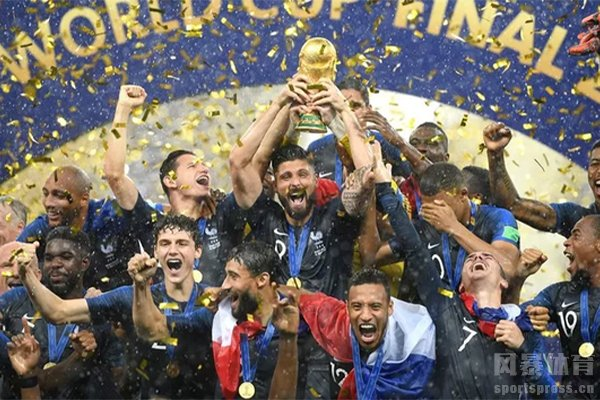 法国队夺取2018世界杯冠军