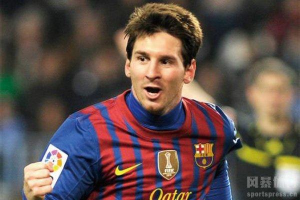 梅西每年可在巴萨领到上亿欧元年薪