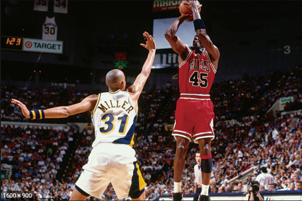 篮球飞人乔丹视频 乔丹的季后赛比赛高清视频