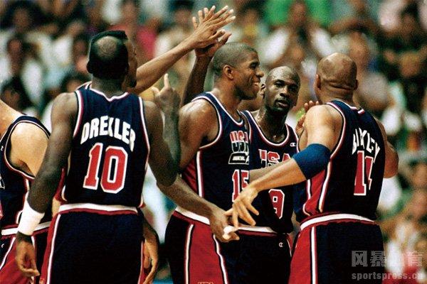 史上最强美国男篮梦之队 !重温1992梦之队奥运夺冠之旅