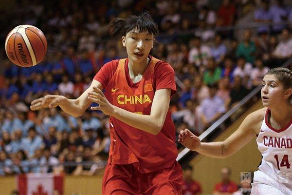 中国女篮逆转英国关键人物韩旭