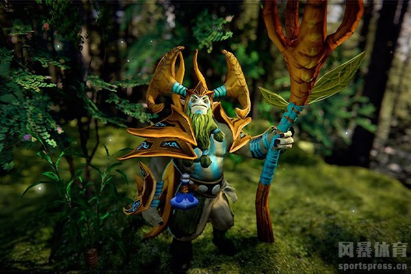 DOTA2先知也成为丛林守护者