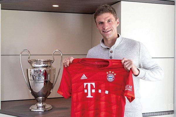 拜仁与穆勒续约至2023年