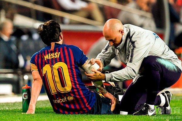 在2013年梅西几乎是在伤病中度过的