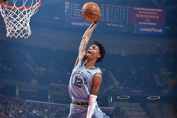 <b>莫兰特十佳球视频  莫兰特NBA生涯十佳球</b>