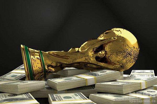 世界杯奖金有多少?解读世界杯奖金分配方案