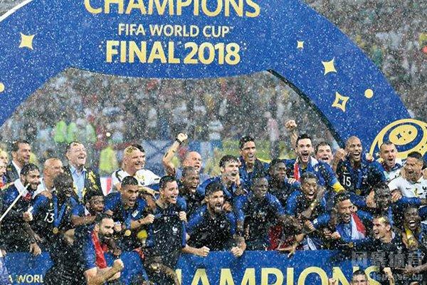 法国队世界杯夺冠奖金高达3800万