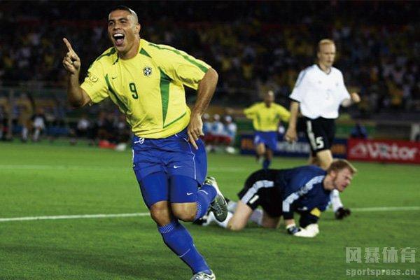罗纳尔多摘得2002年世界杯最佳射手