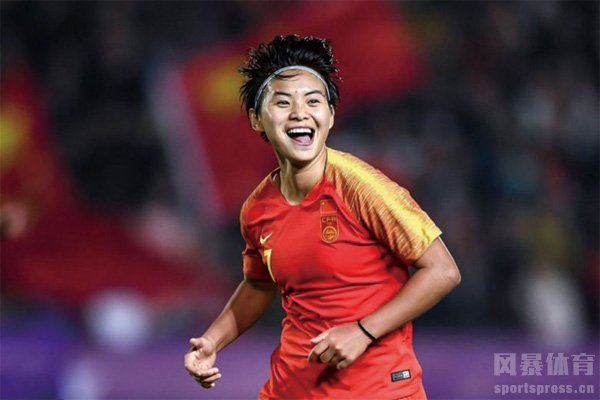 中国女足队员王霜