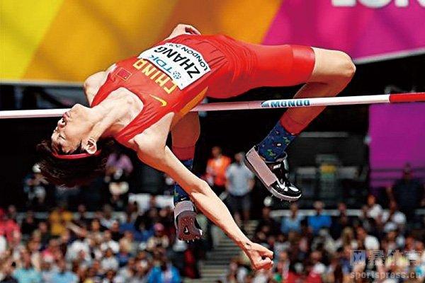 张国伟仍是国内顶尖跳高运动员