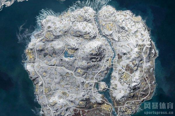 绝地求生雪地图