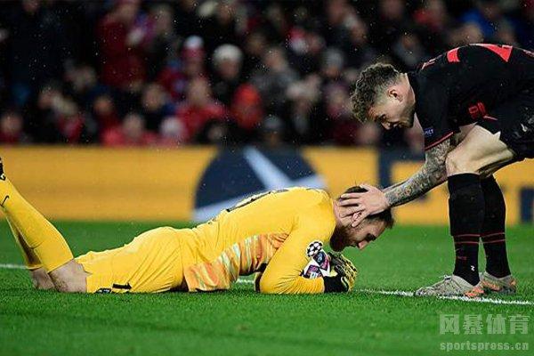马竞艰难击败利物浦,门将奥布拉克天神下凡
