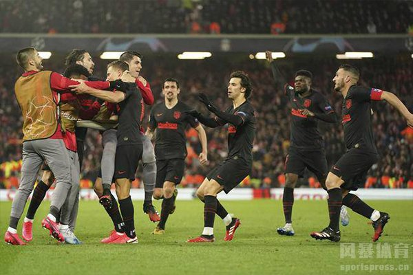 最终马德里竞技获得这来之不易的胜利
