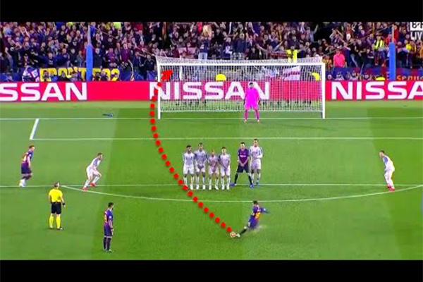 梅西任意球前20集锦!梅西任意球早已震惊世界!