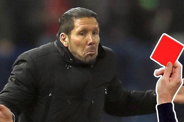穆里尼奥领衔的教练被罚红牌!盘点十位吃红牌的教练合集!