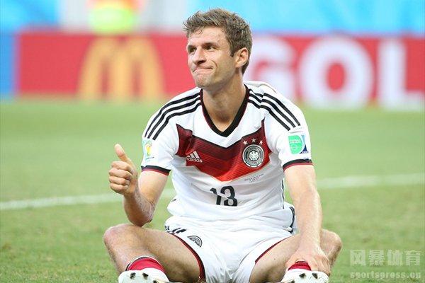 托马斯穆勒在2014世界杯上表现十分抢眼