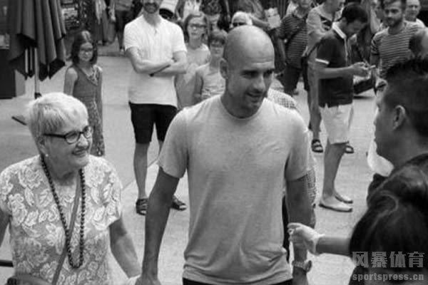 瓜迪奥拉母亲因新冠肺炎去世,享年82岁