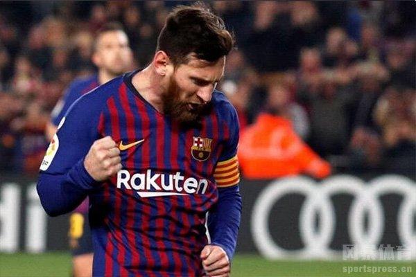 梅西在欧冠射手榜排名第二,目前仍有希望进军第一