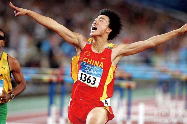 刘翔是中国田径第一人