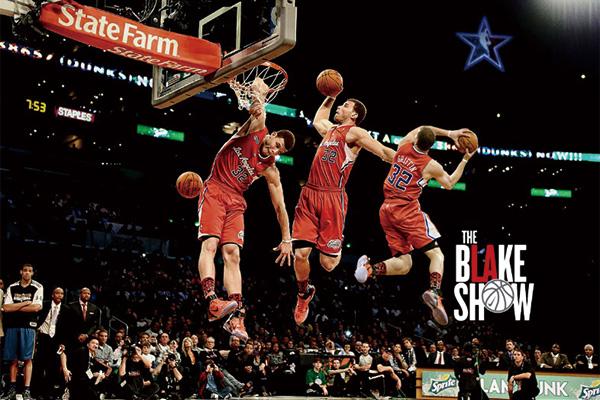 格里芬扣篮大赛高清视频 布雷克·格里芬扣篮大赛