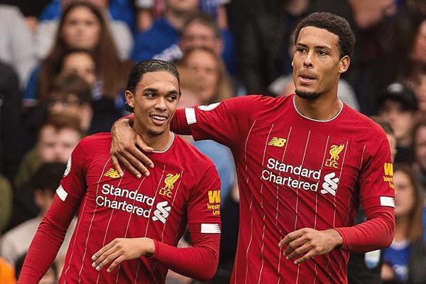 利物浦的范诺德和阿戴克
